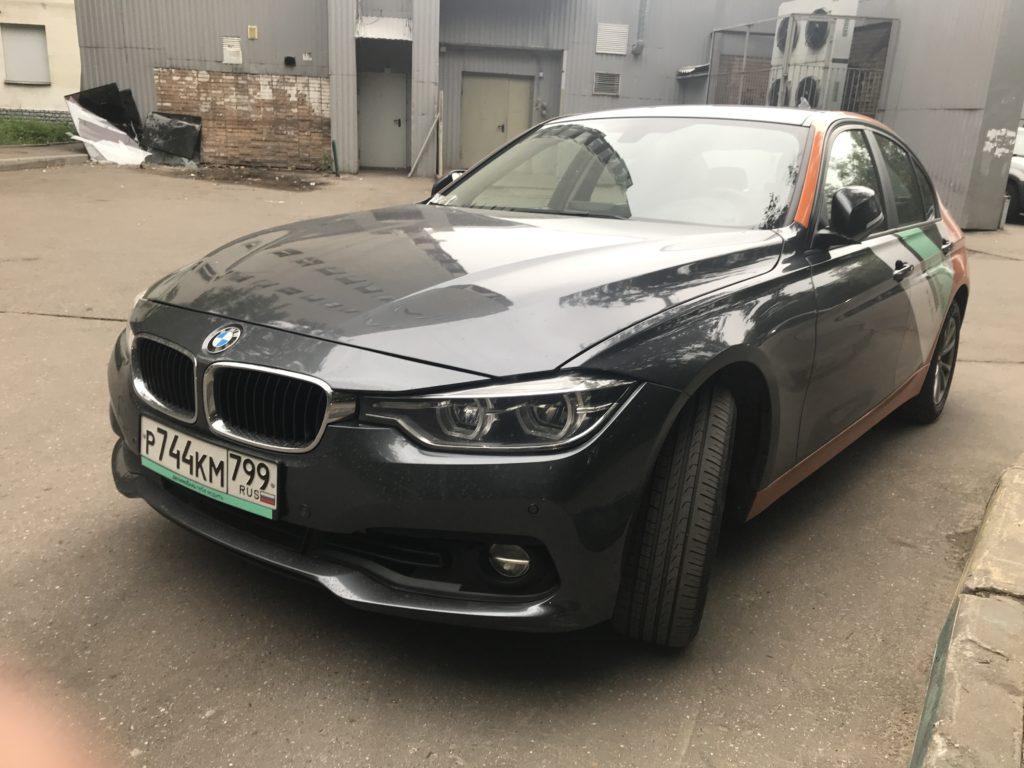 BMW 3 Делимобиль