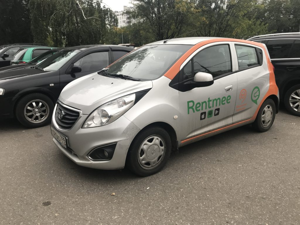 Каршеринг Ravon R2 от RentMee в Санкт-Петербурге