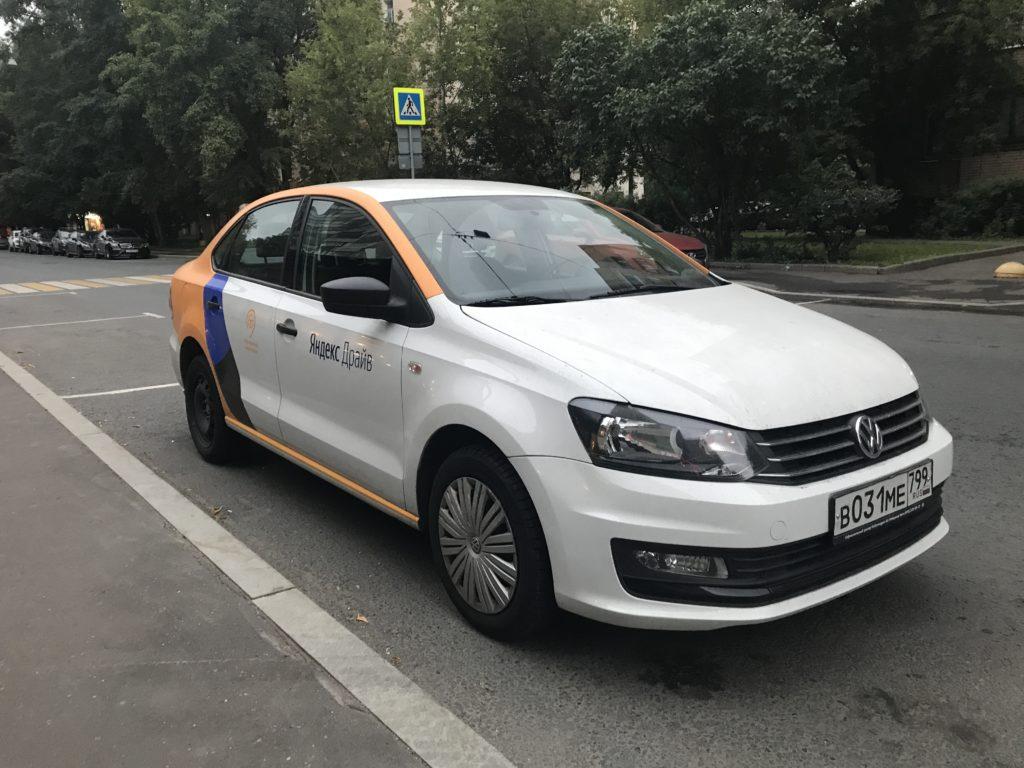Volkswagen Polo от Яндекс Драйв в Казани