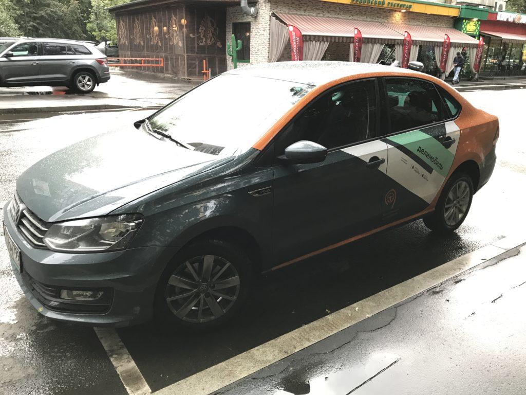 Седан Volkswagen Polo в Химках (Делимобиль)