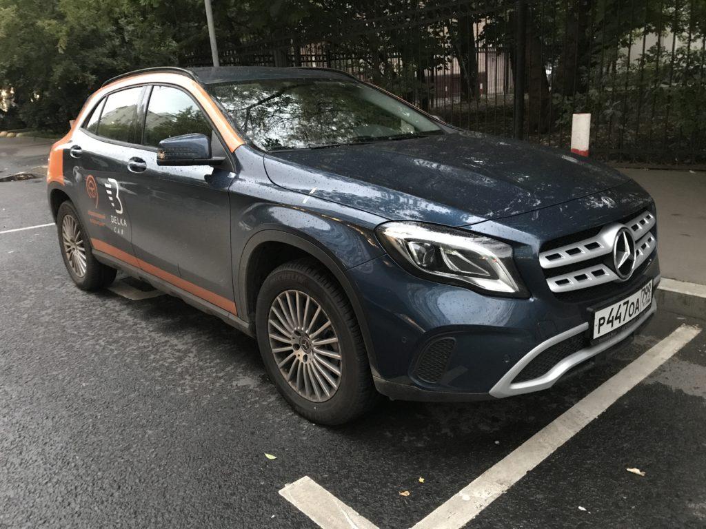 Mercedes Benz GLA в каршеринге Belkacar (Химки)