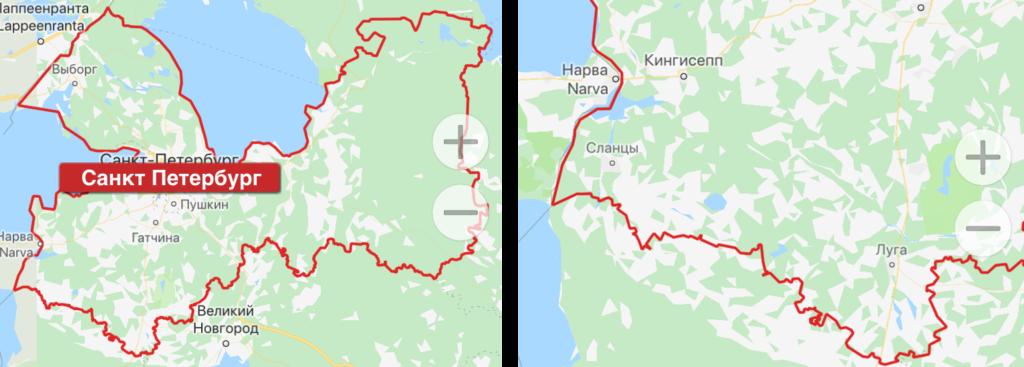 Расширение зеленой зоны Матрешкар в Санкт-Петербурге