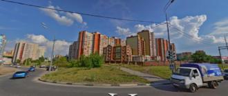 улице Антонова-Овсиенко в Волгограде