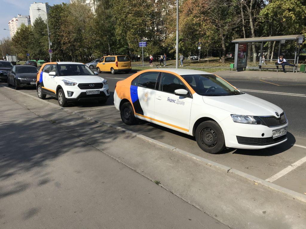 Московский каршеринг Яндекс Драйв