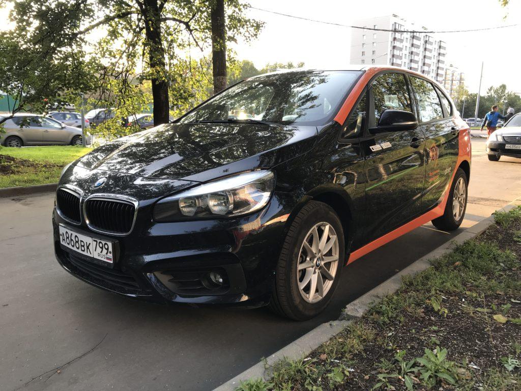 BMW 2 в каршеринге YouDrive