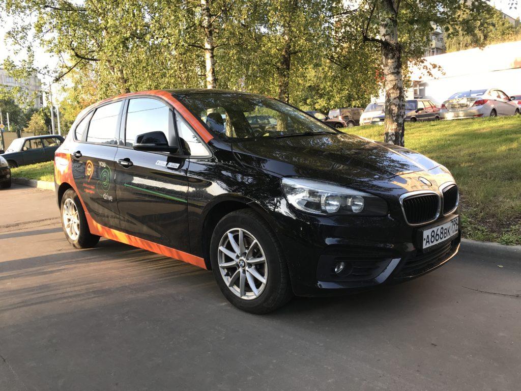 BMW 2 Active Tourer в каршеринге YouDrive