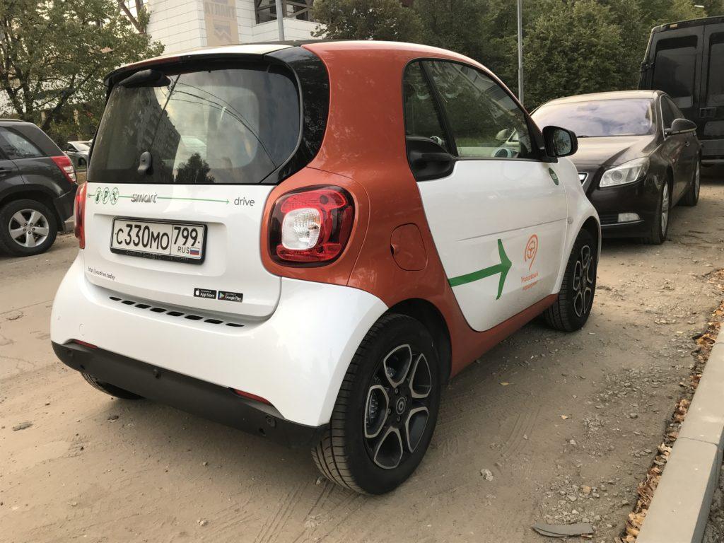 YouDrive Smart ForTwo в Екатеринбурге