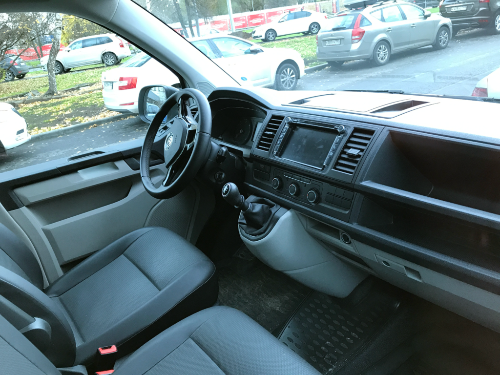 Интерьер фургона Volkswagen