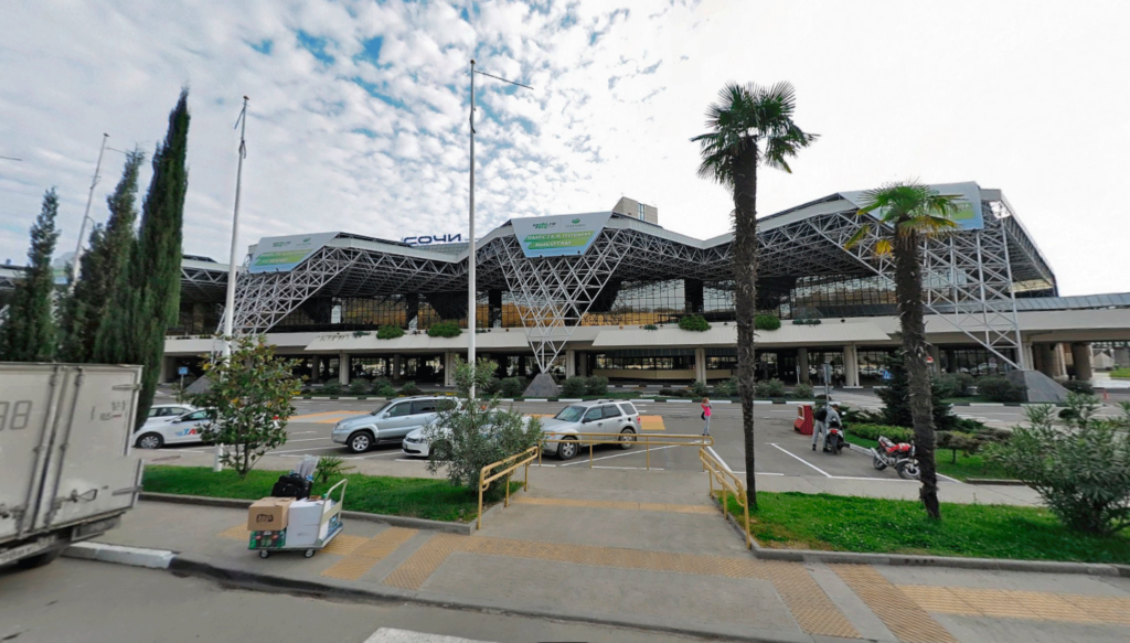 Аэропорт Адлер в Сочи