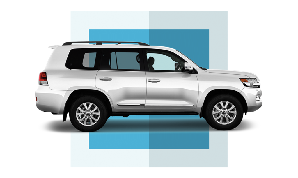 Toyota Land Cruiser без оклейки