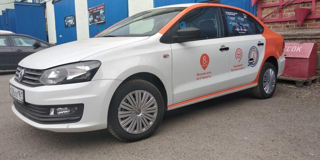 Volkswagen Polo в каршерингe BestCar. Ростов-на-Дону