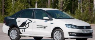 Volkswagen Polo в каршеринге Ворон (Пермь)