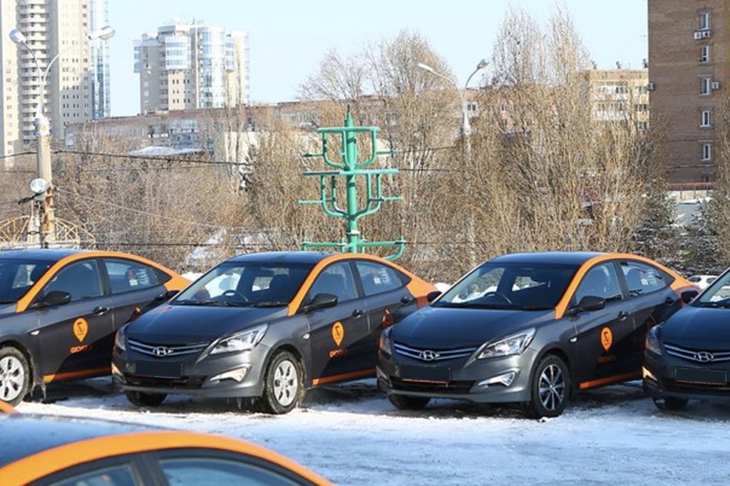 Автомобили каршеринга Делимобиль в Самаре