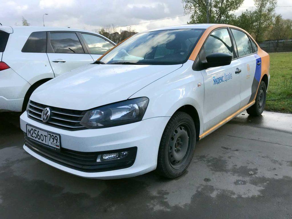 Volkswagen Polo Яндекс Драйв