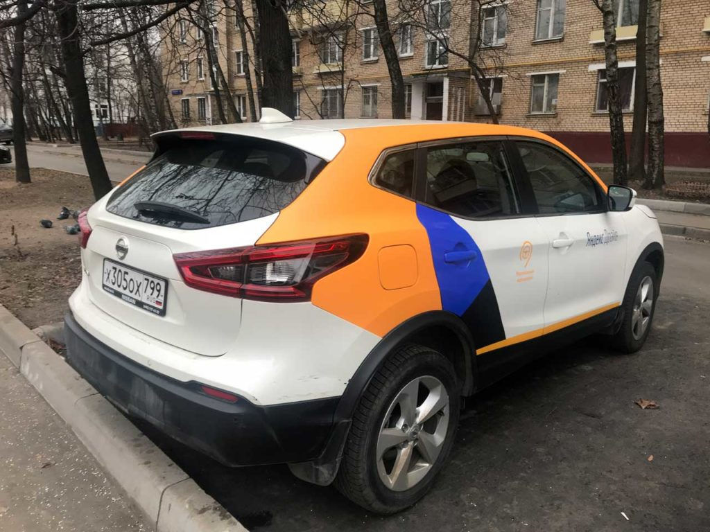 Nissan Qashqai от Яндекс Драйв в Санкт-Петербурге