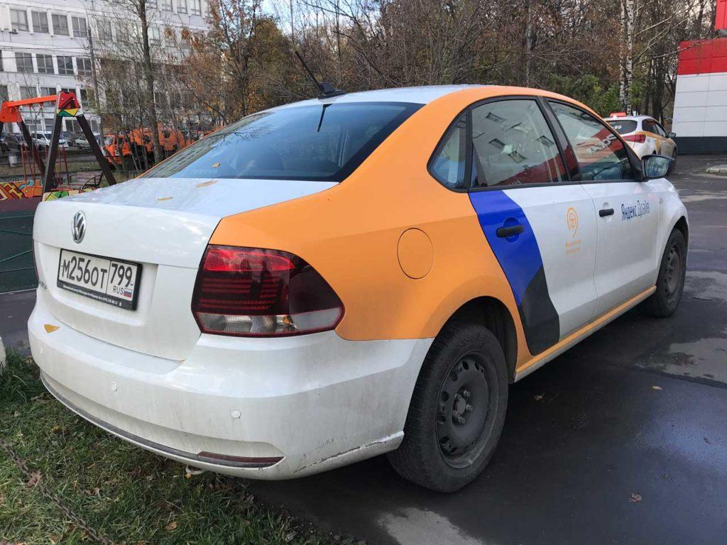 Volkswagen Polo от Яндекс Драйв в Санкт-Петербурге