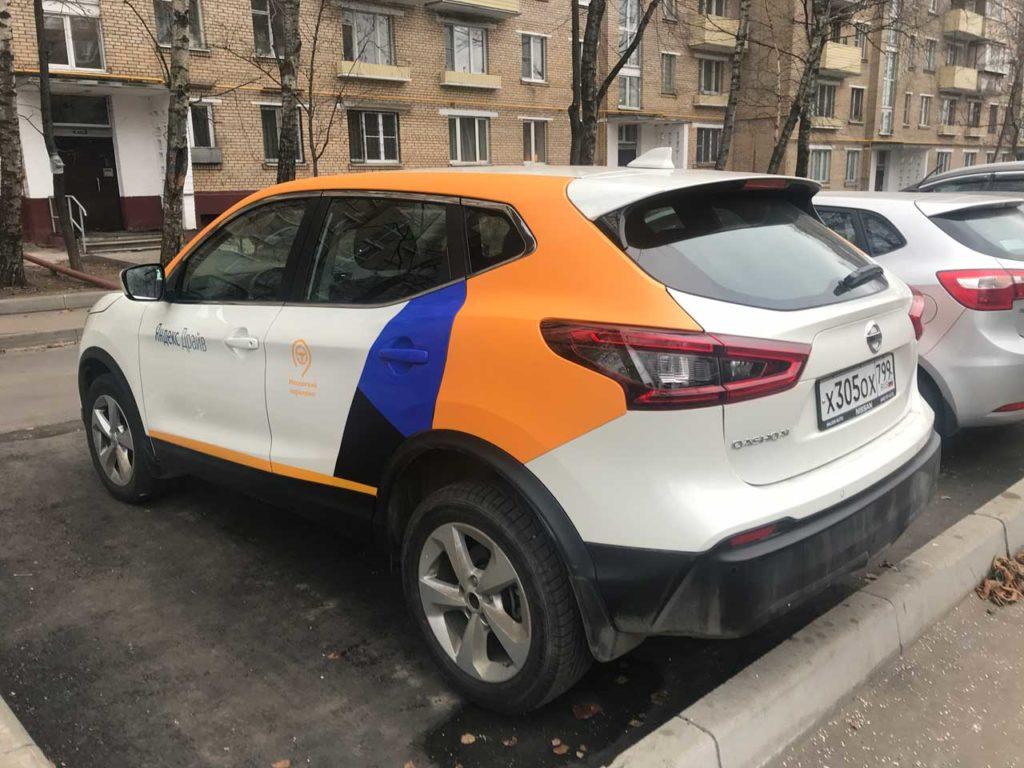 Nissan Qashqai в каршеринге Яндекс Драйв