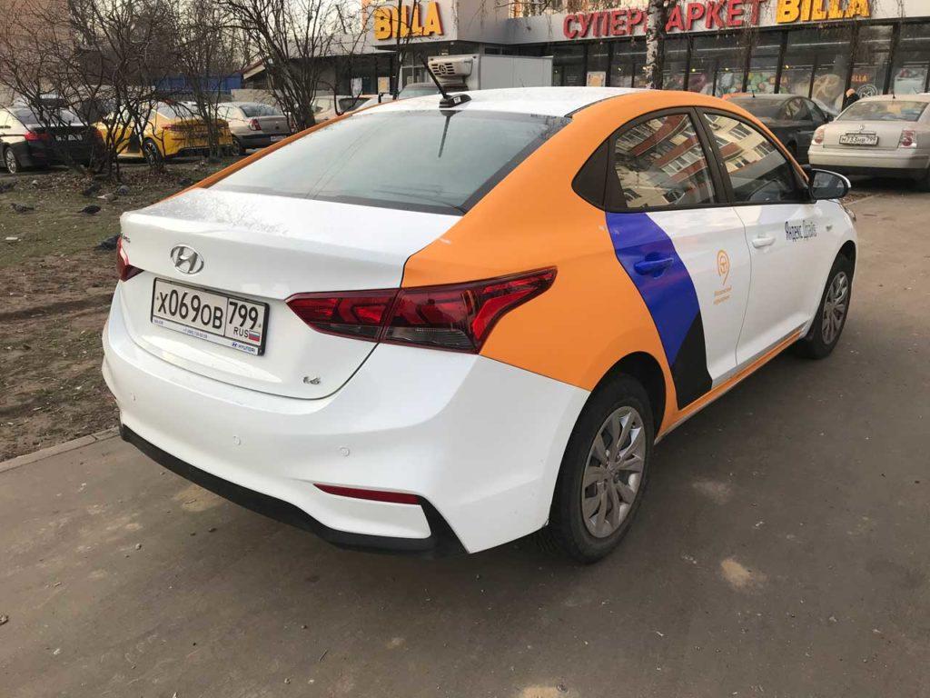 Hyundai Solaris Яндекс Драйв