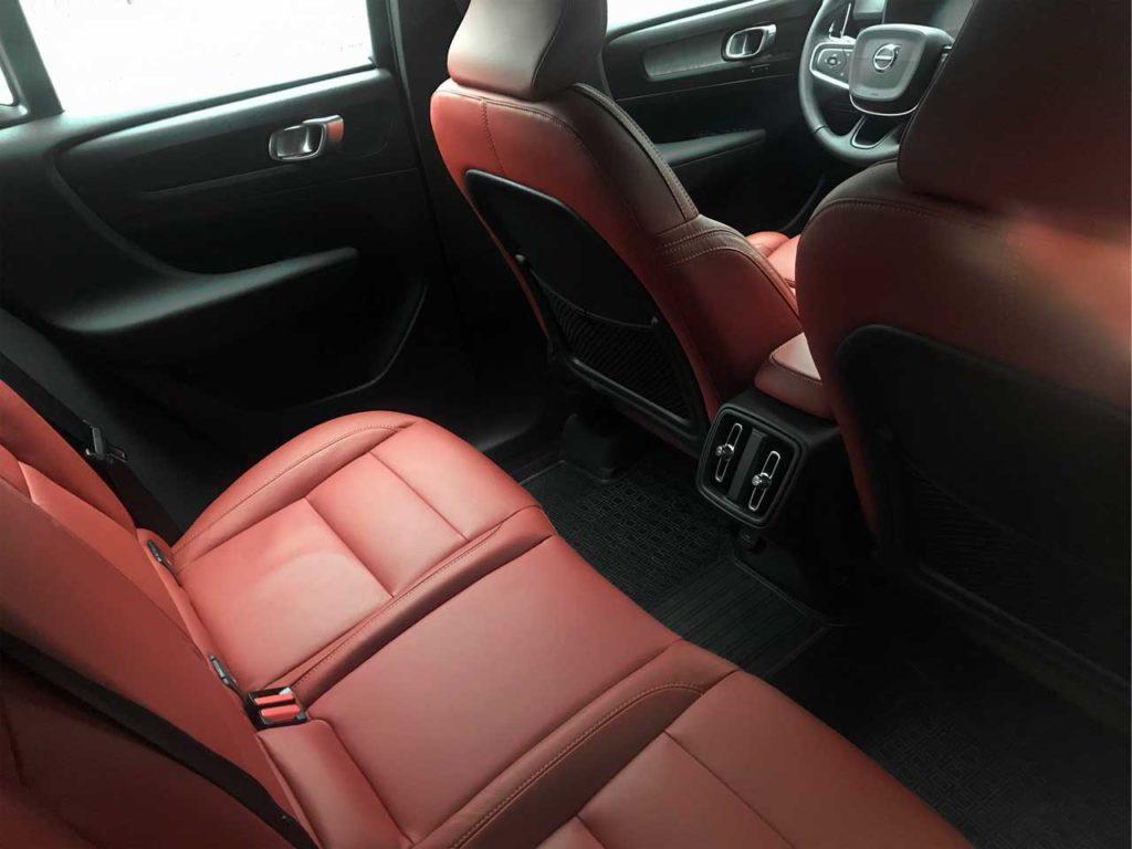 Задний ряд Volvo XC40