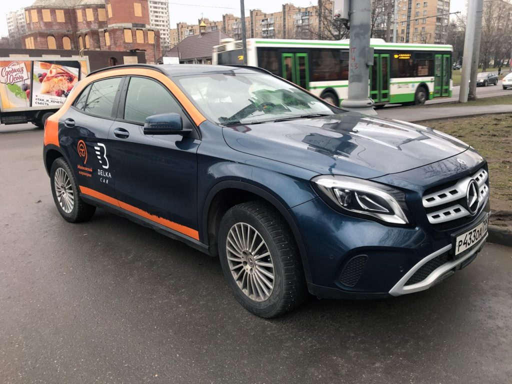 Mercedes-Benz GLA от Belkacar